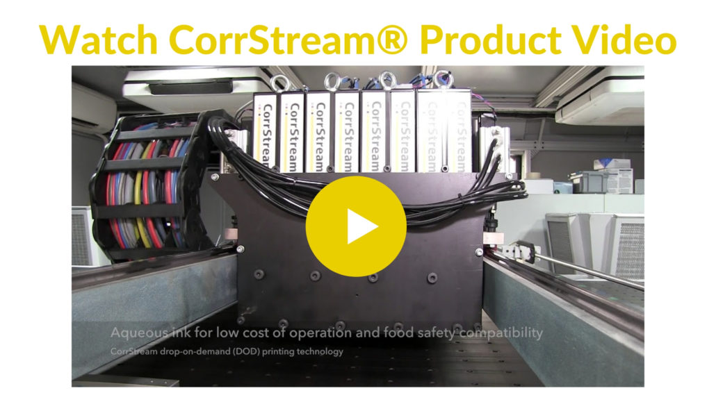 Digital Printing on Corrugated | CorrStream® Digital Printer