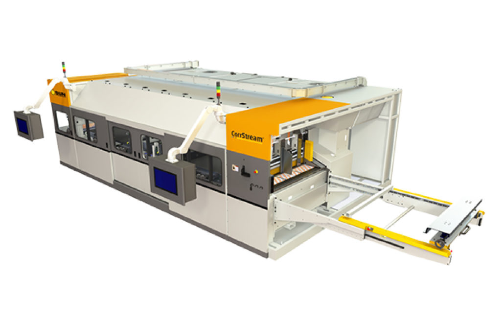 CORRSTREAM® DIGITAL PRINTER CORRUGATED DIGITAL PRINTING