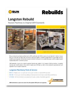 Langston Machinery Rebuild Case Study