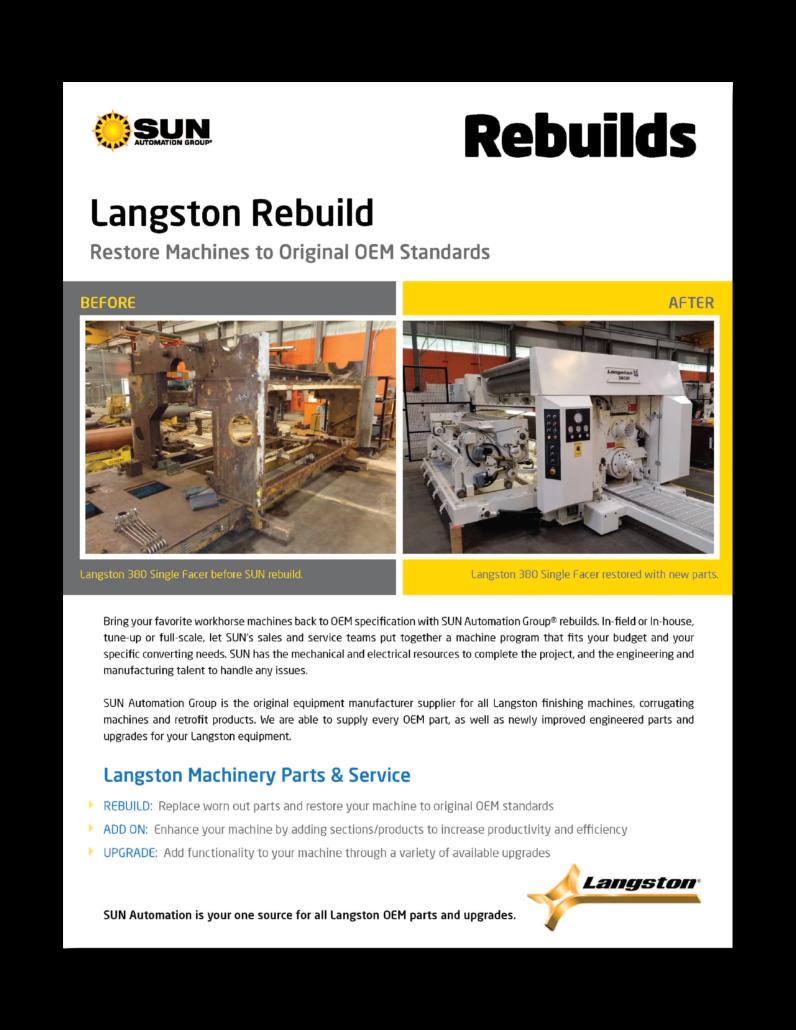 Langston rebuild case study